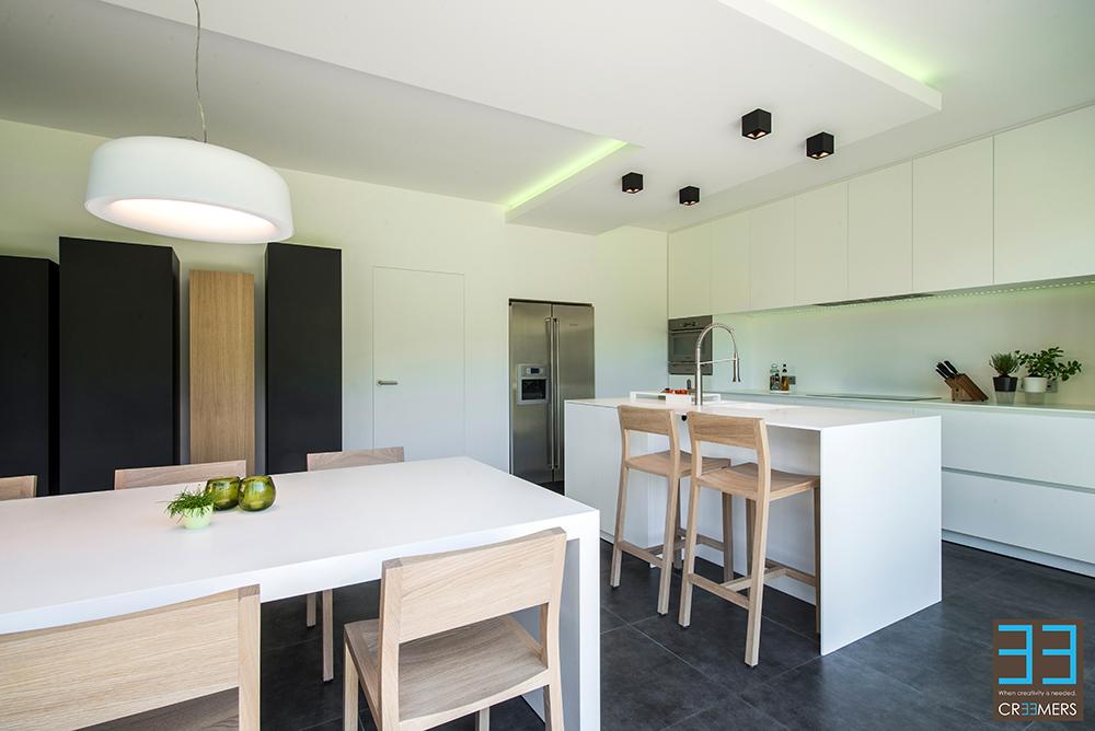Renovatie Van Keukens : Renovatie van keuken en eetkamer zonder breekwerk binnenkijken