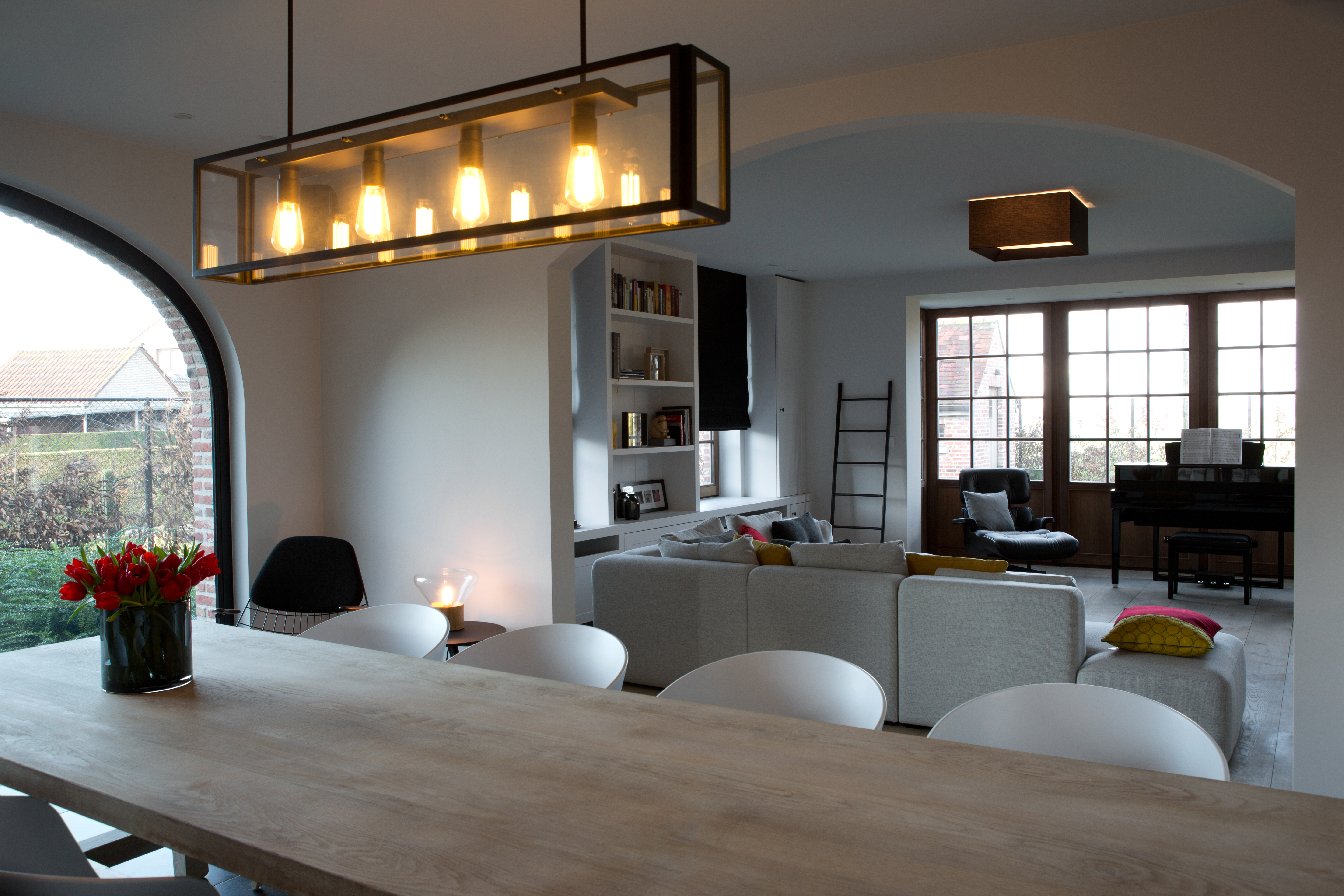 Zwart Wit Interieur Woonkamer. Simple Fijn Weekend Zwart U Wit With ...