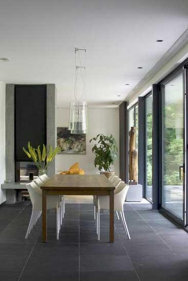 Moderne villa inrichting door d o o s interieur vormgeving for Tips inrichten nieuwbouwwoning