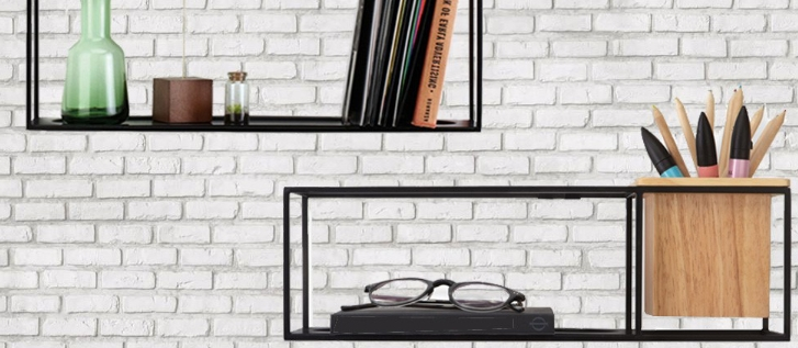 Cubist Shelf wandplank – Umbra