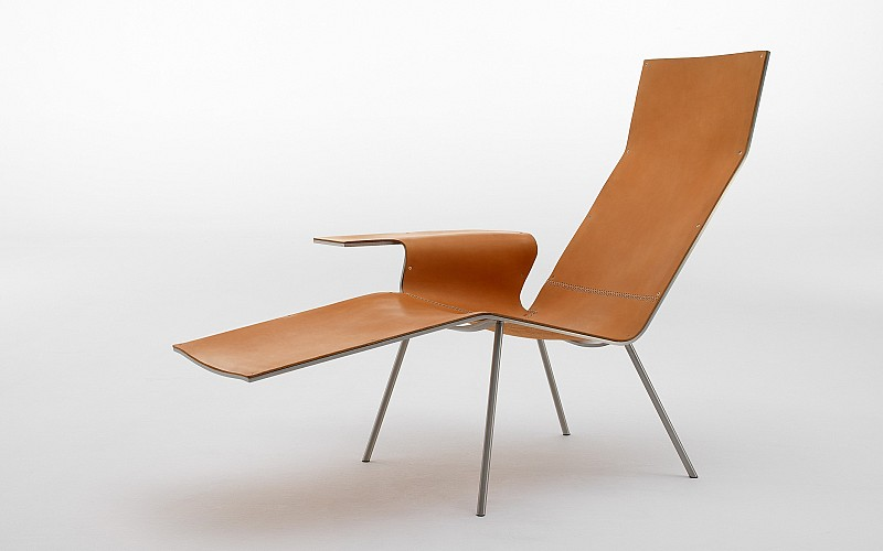 Leather Lounge Chair - Van Severen