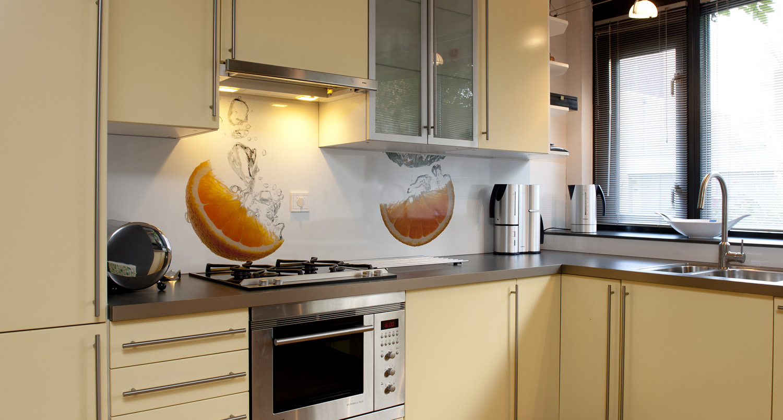 Foto spatwand: een originele achterwand in de keuken