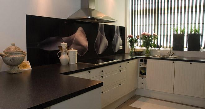 Fotobehang In De Keuken : Foto spatwand: Een originele achterwand in de keuken
