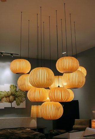 Wonderlijk Sculpturale verlichting in hout- Passion4Wood JA-96