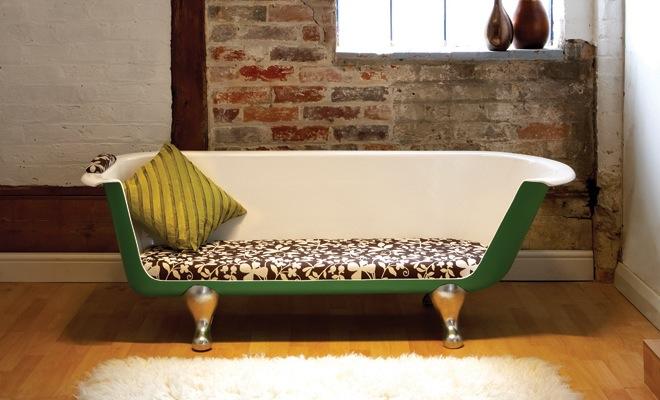 Fotospecial gerecycleerde meubels van afval - Badkuip ontwerp ...