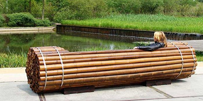 Zelfgemaakte zitbank van bamboe do it yourself for Zelf keukenontwerp maken