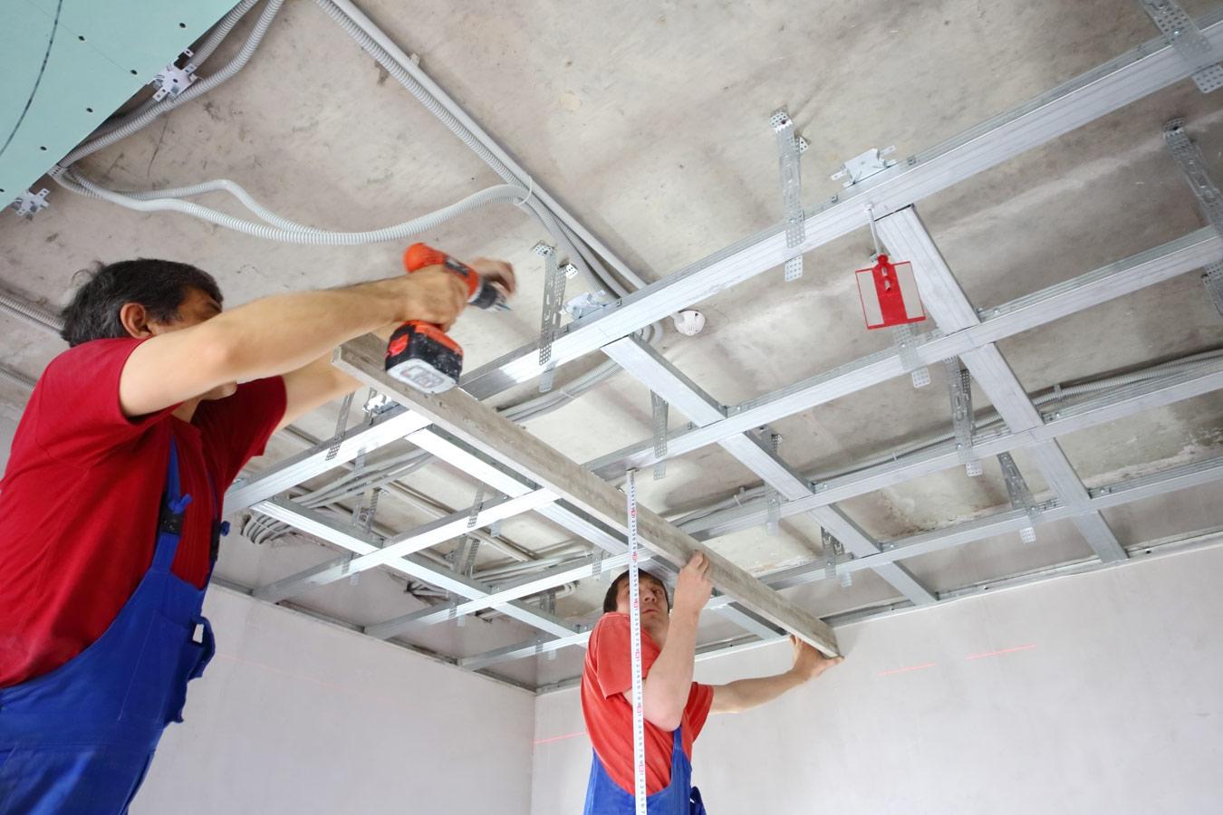 Gyproc plafond voordelen mogelijkheden for Tipos de techos desmontables