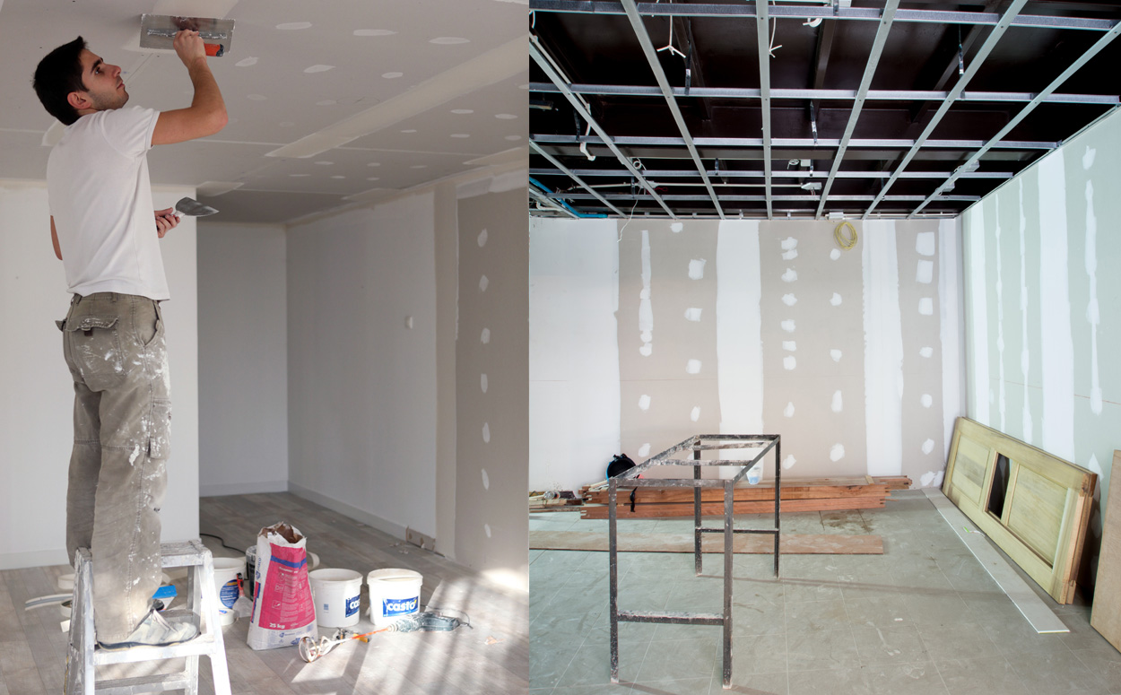 Verlaagd plafond plaatsen werkwijze prijs advies