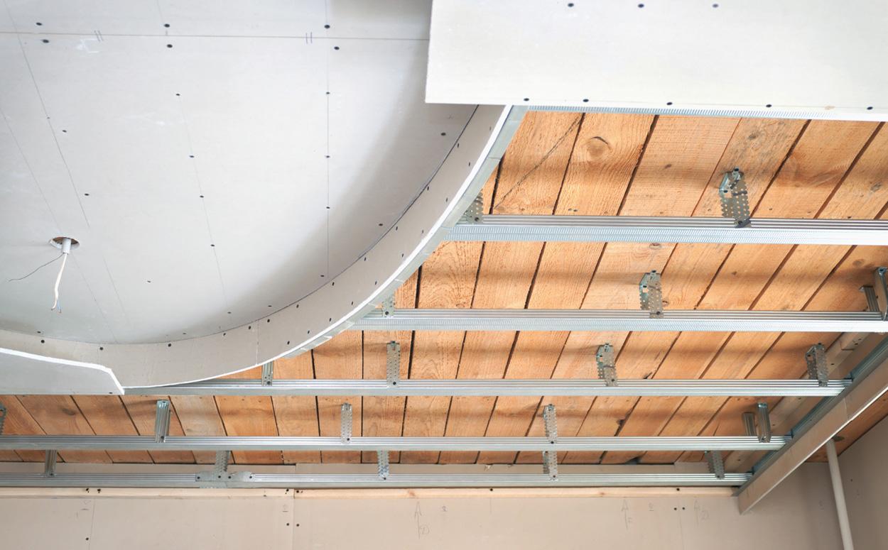 Nieuwbouw Keuken Kosten : Suspended Drywall Ceiling