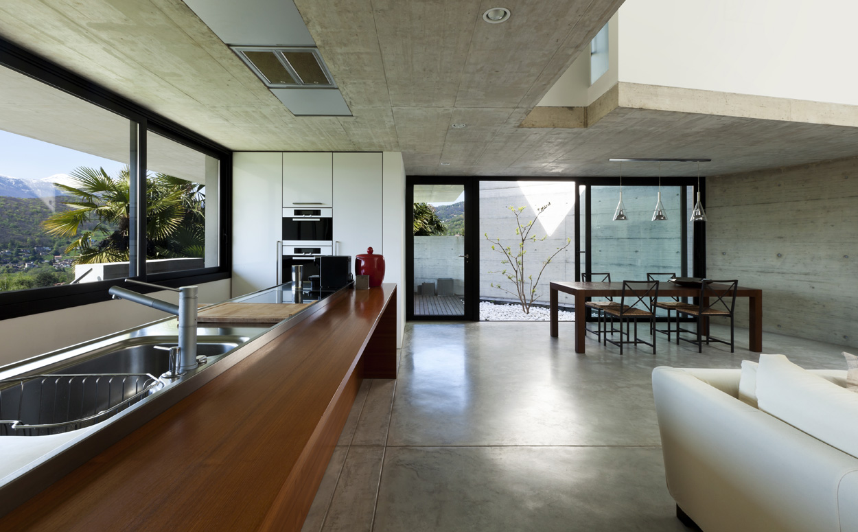 woonkamer betonvloer artsmediafo