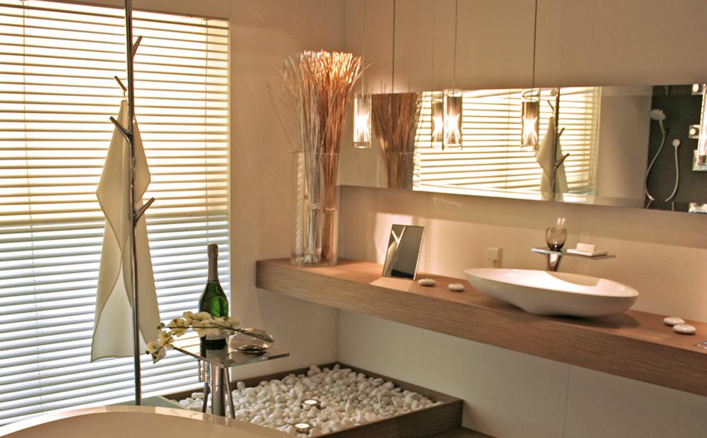 badkamer inrichting met decoratie