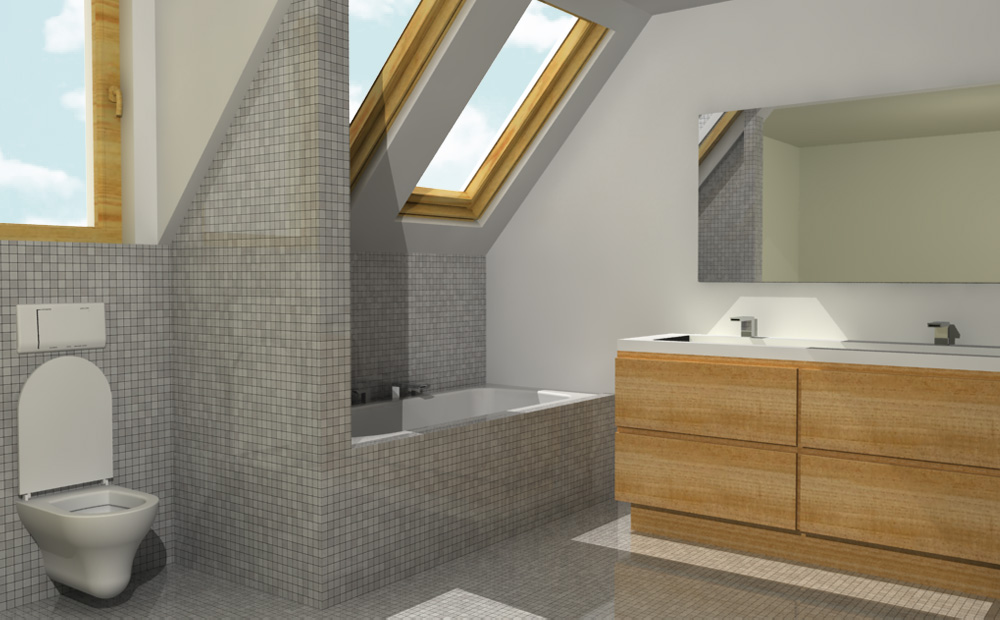 Badkamer inrichten algemene tips - Keramische inrichting badkamer ...