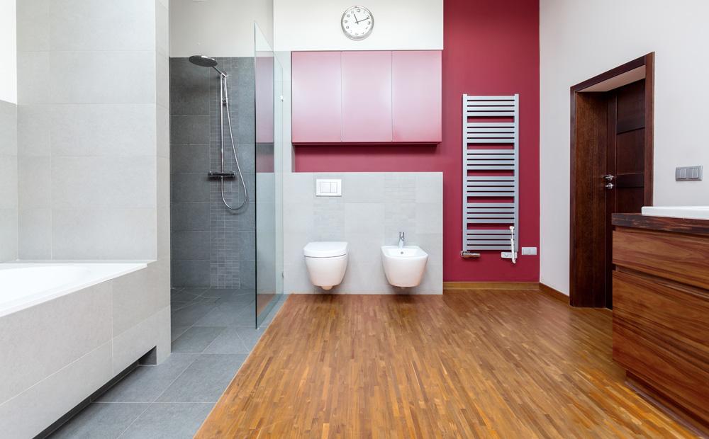 Keuken Badkamer Vloeren : Houten vloer tegels keuken