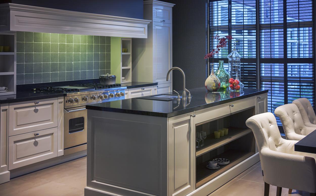 Farmhouse Keuken Landelijk : Landelijke inrichting interieur advies cottage stijl