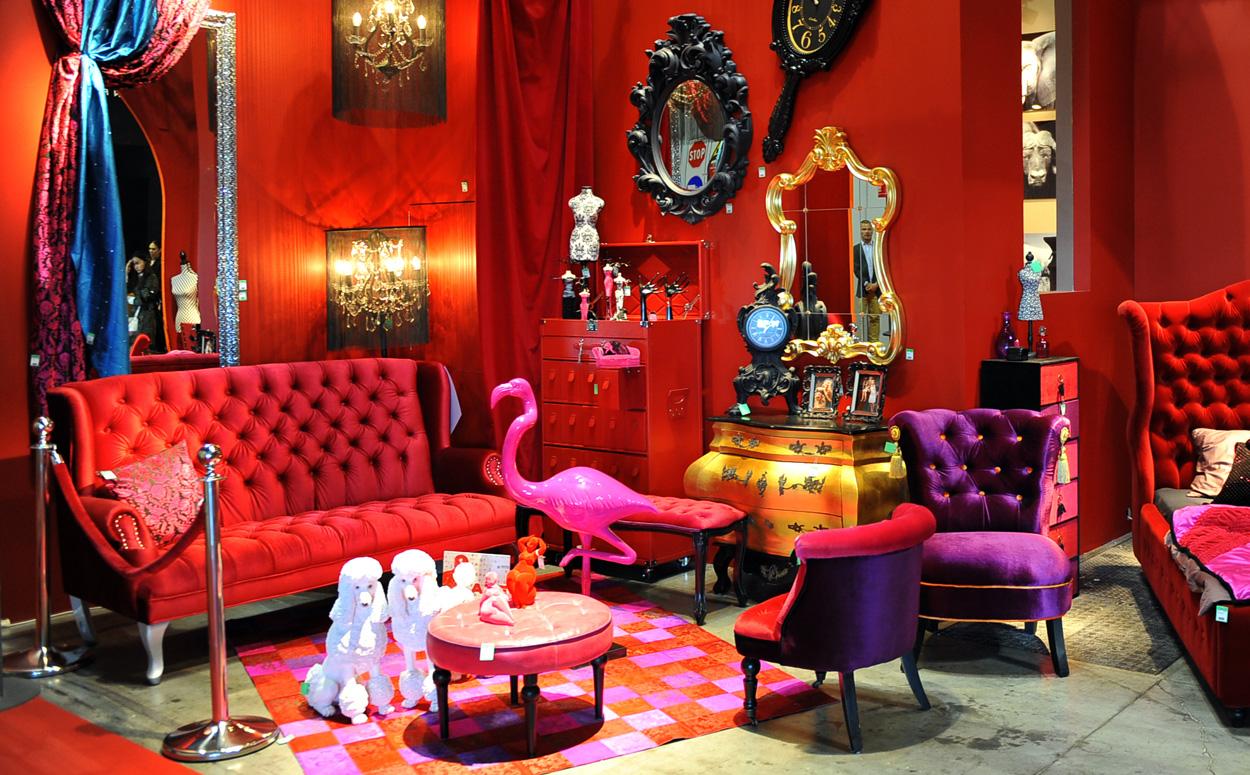 De metropolitan stijl een stijlvol en uitbundig interieur - Nacht kamer decoratie ...