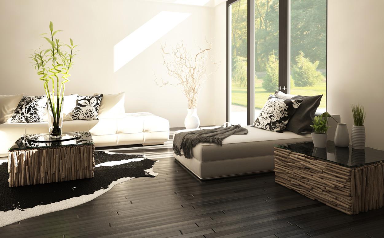 Zen interieur 7 kenmerken voor een minimalistische inrichting - Zen kamer deco idee ...