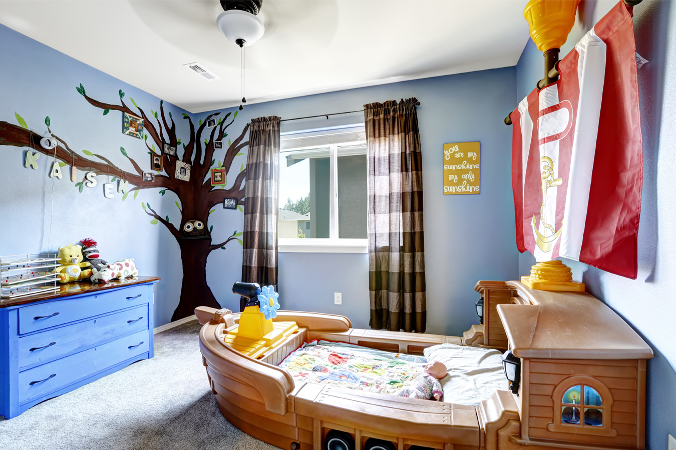 De kinderkamer verven tips en inspiratie for Interieur forma
