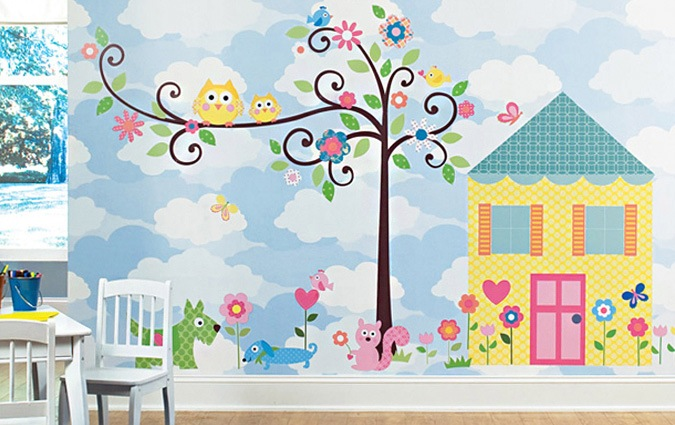 Stickers Kinderkamer Disney.Kinderkamer Muurstickers Kopen Alle Merken Op Een Rijtje