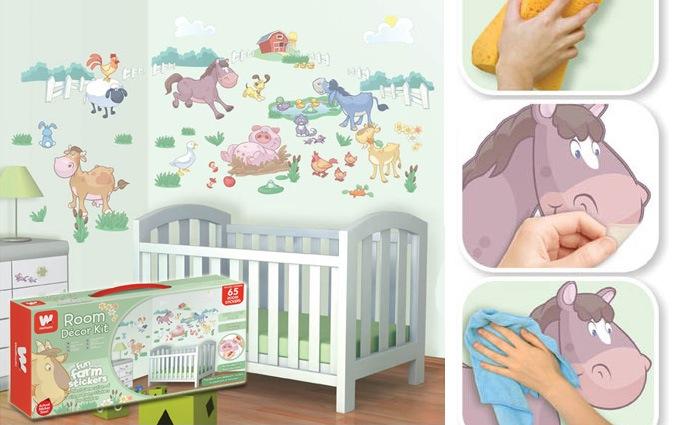 Kinderkamer muurstickers kopen: alle merken op een rijtje