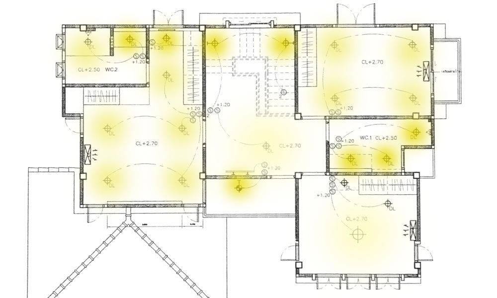 Wandtegels Badkamer Tiel ~ lichtplan maken
