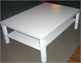 Ikea salontafel wit hoogglans