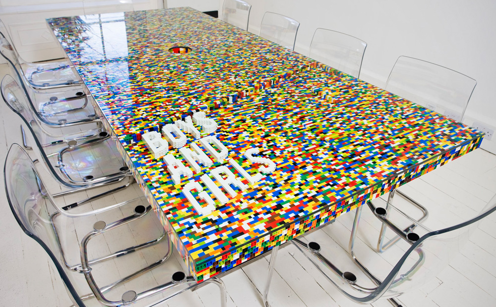 Creatief Met Lego Meubels En Decoratie Van Lego Blokjes