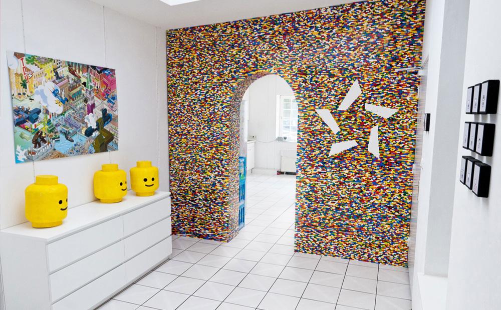 Creatief met lego meubels en decoratie van lego blokjes - Decoratie volwassenen kamers ...