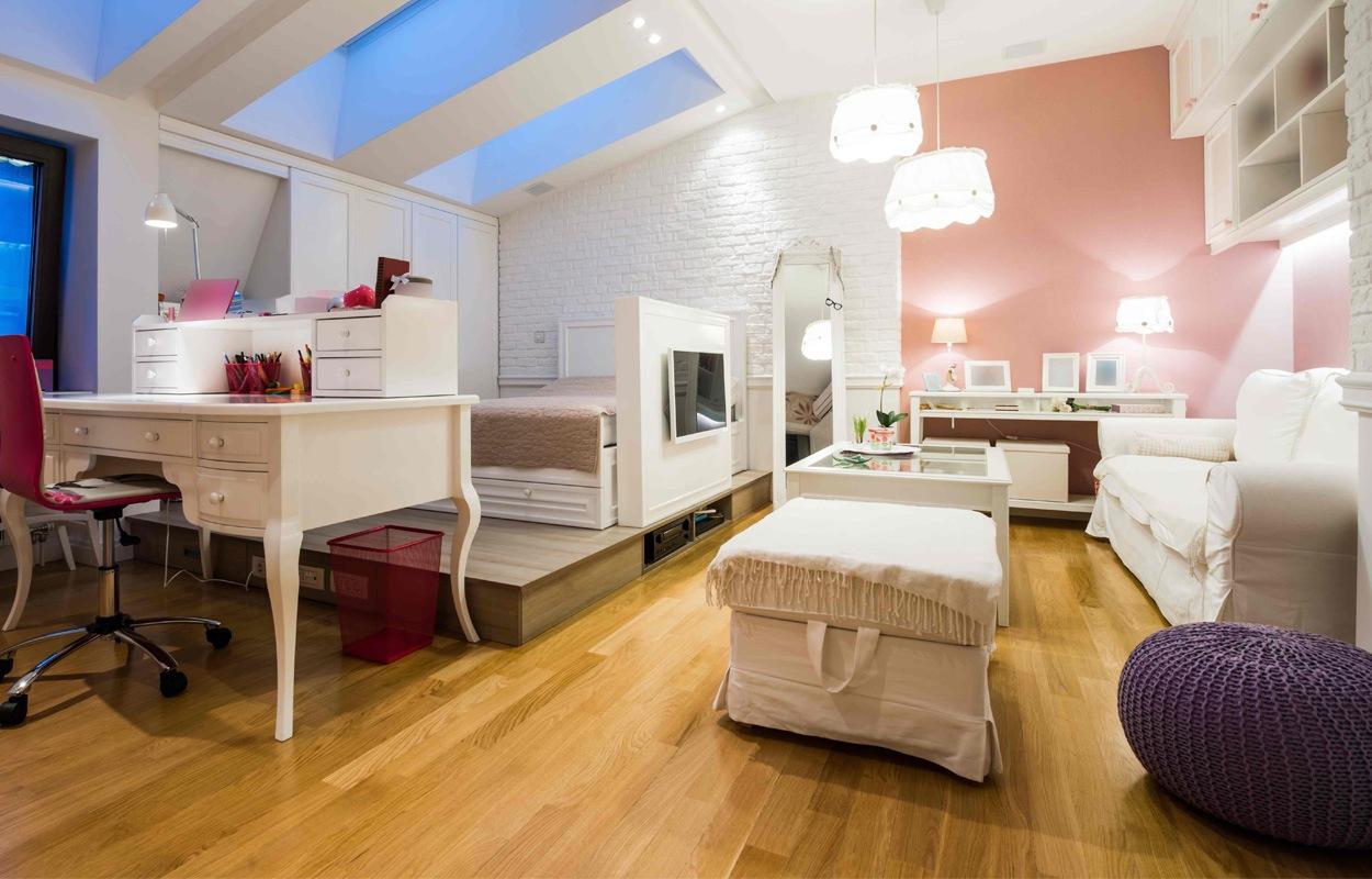 Woonkamer Inrichten Zonder Tv: Houtlook tegels woonkamer en badkamer ...