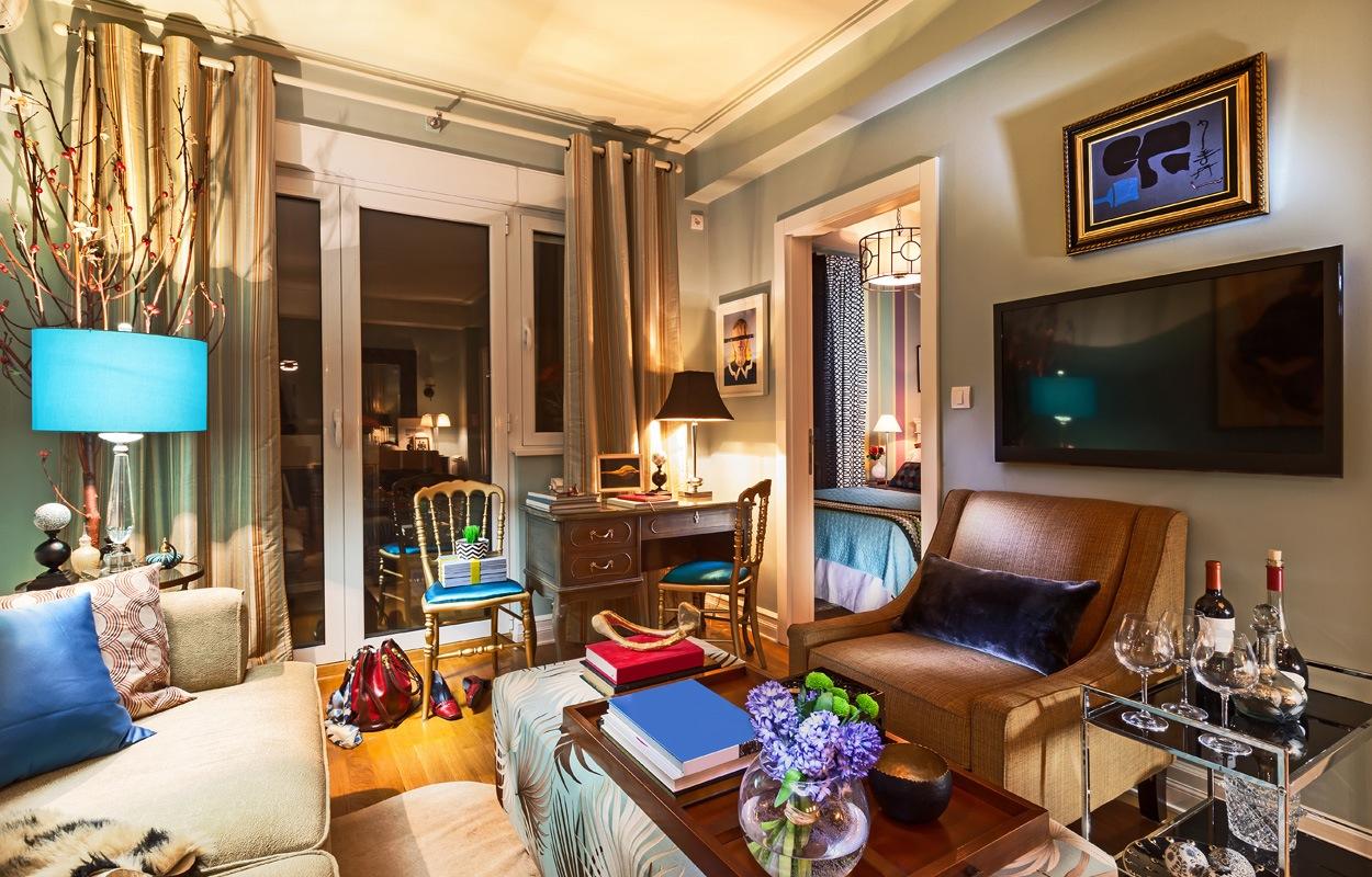 10 tips voor het inrichten van een klein appartement - Layout klein appartement ...