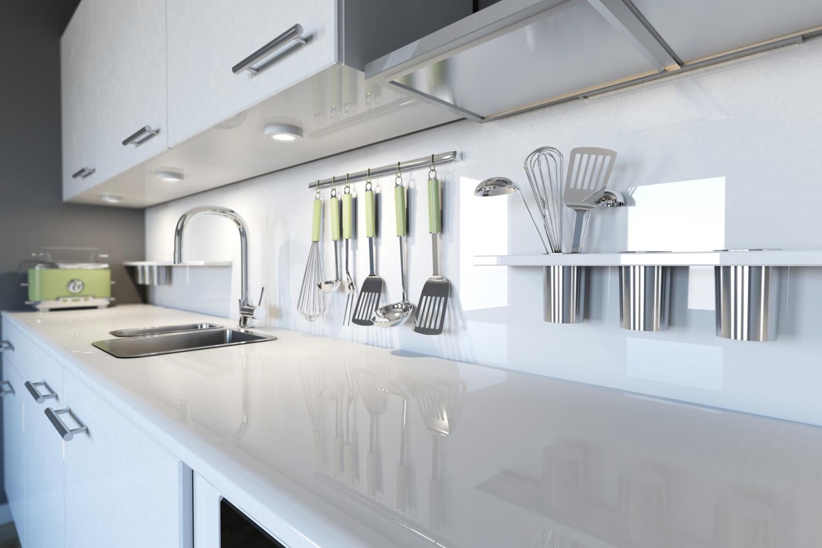 Moderne Keuken Werkblad: Moderne keuken in amsterdam met houten ...