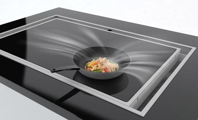 Keuken Afzuigkap Zonder Afvoer : Dampkap in het werkblad: Voordelen & Nadelen