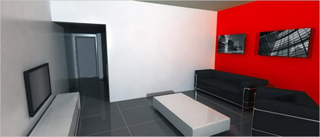 Open half open of gesloten keuken kiezen - Versier een kleine woonkamer ...