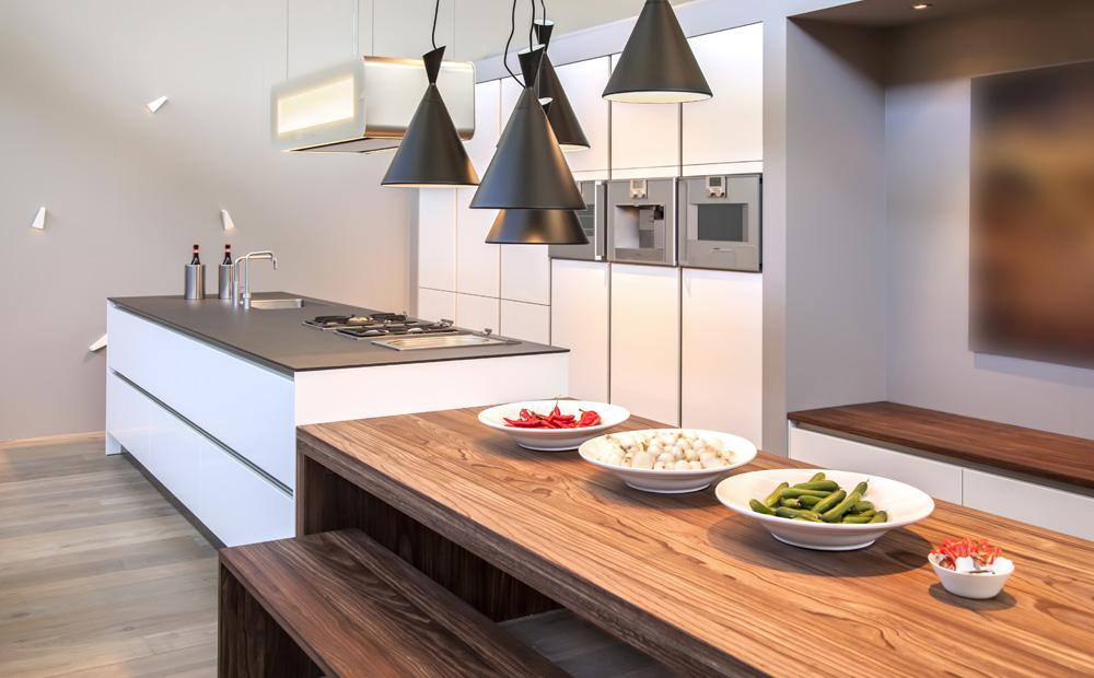 Keuken Met Kookeiland En Tafel : Keukeneiland maken: Inspiratie – Afmetingen & Tips