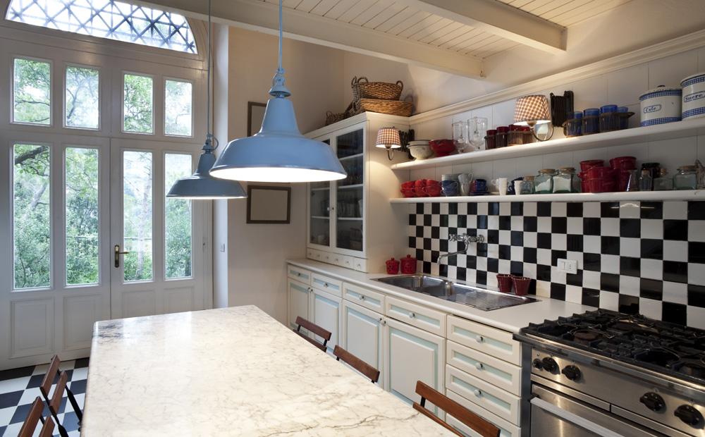 Keuken decoratie landelijk in de hal van mijn huis - Keuken originele keuken ...
