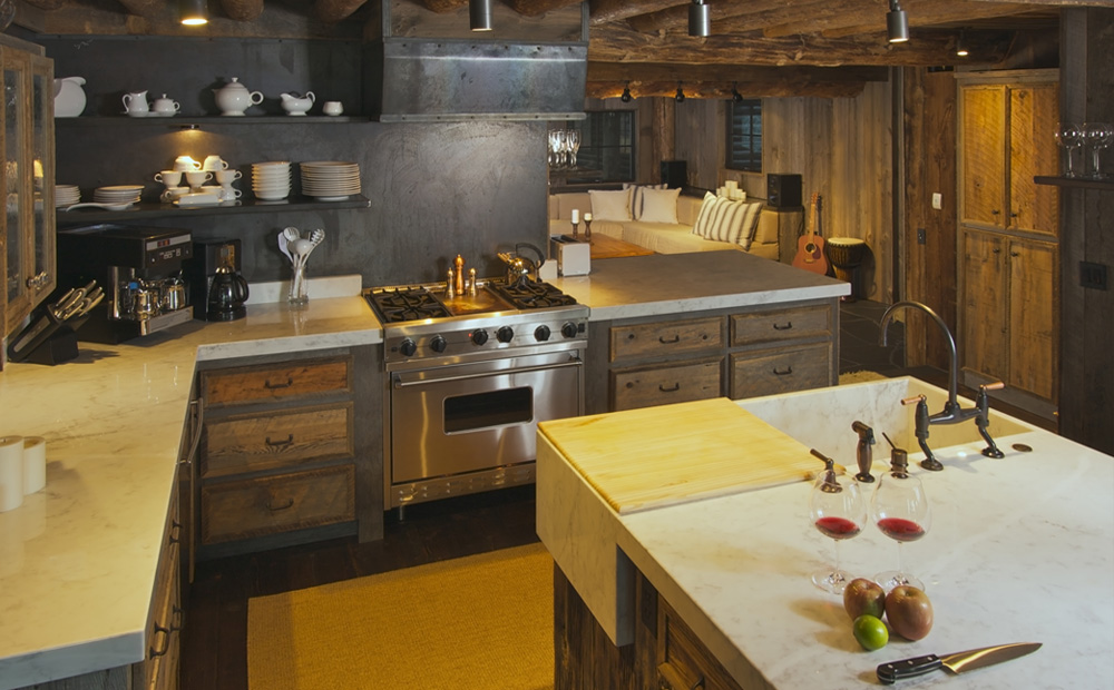 Landelijke keuken ontwerpen tips inspiratie motorcycle review and galleries - Keuken rustieke grijze ...