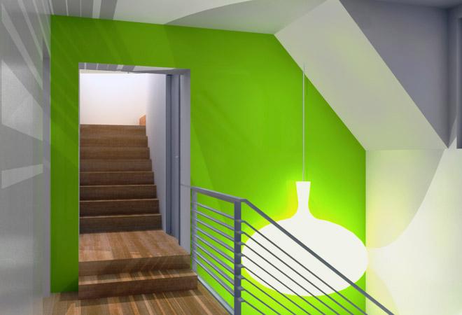 Accentmuur schilderen tips kleuren muren kiezen - Deco gang huis ...