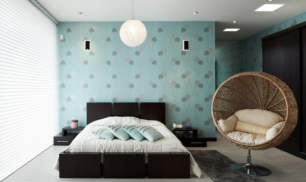 behangpapier in een modern interieur - ideeën en voorbeelden, Deco ideeën