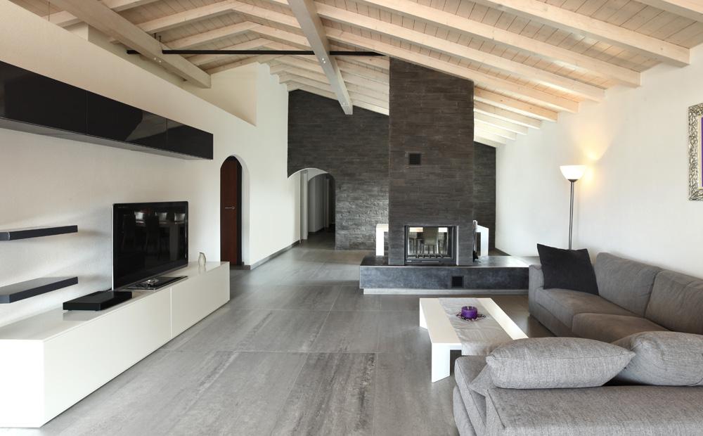 Kleuradvies interieur kleuren en hun ruimtelijk effect - Kleur verf moderne woonkamer ...