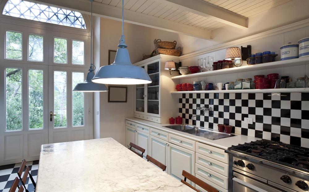 Keuken Gordijn 5 : Landelijke keuken gordijnen