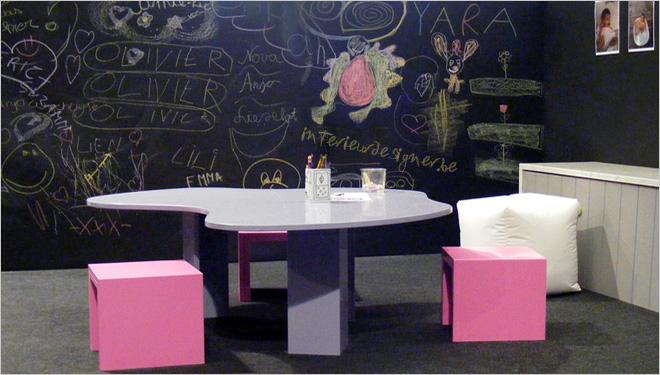 Tips voor een creatief interieur met bordverf - Interieur decoratie ideeen ...