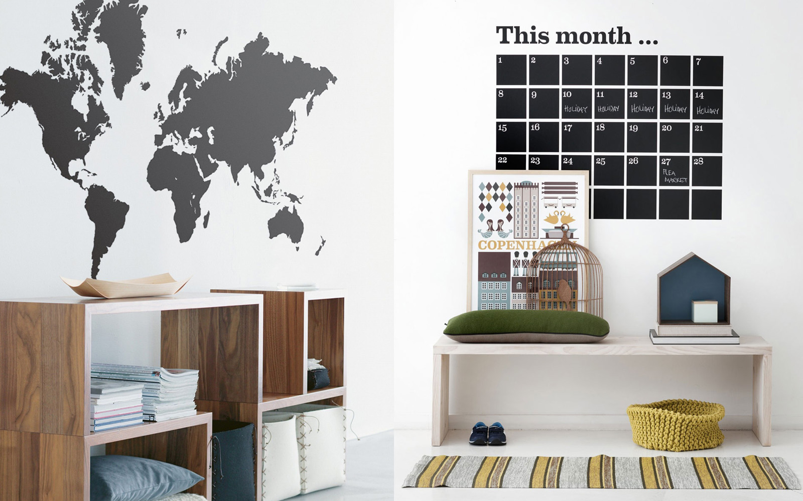 Ferm Living muurstickers
