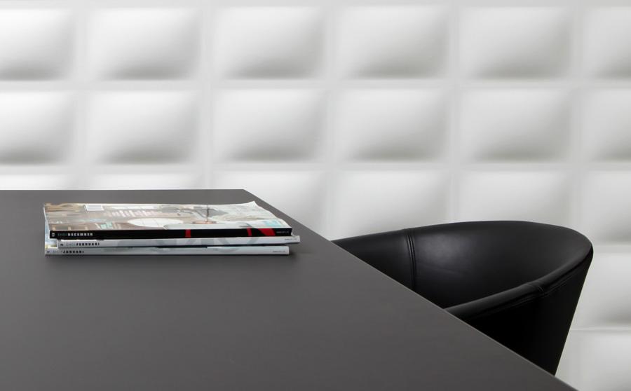 Decoratie tip: overschilderbare wandpanelen van 3d walldecor