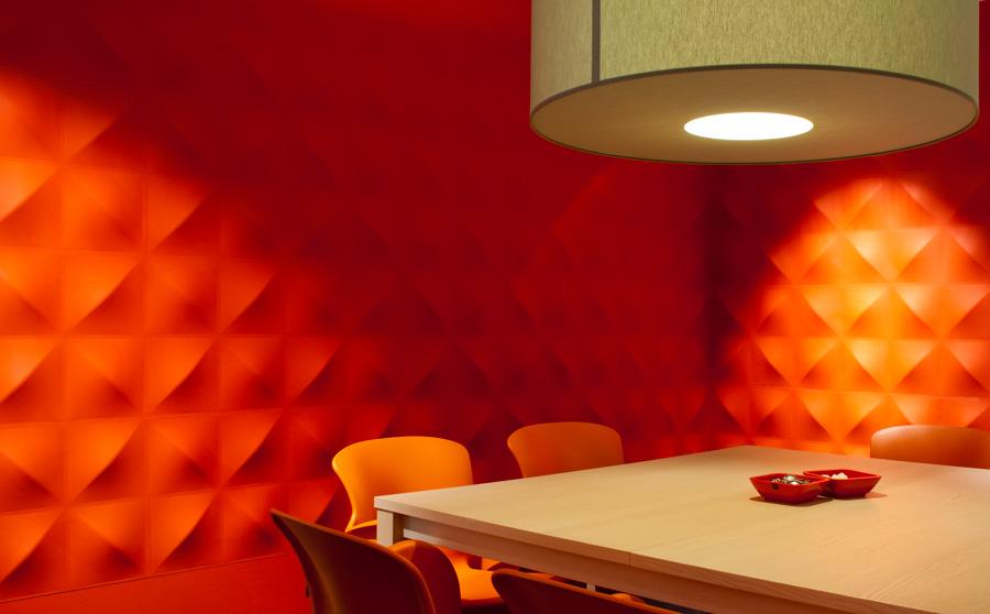 Decoratie tip overschilderbare wandpanelen van 3d walldecor - Originele toilet decoratie ...