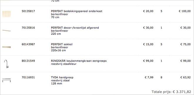 Eu00e9n van de leukste features van de Ikea Home Planner is dat je steeds ...