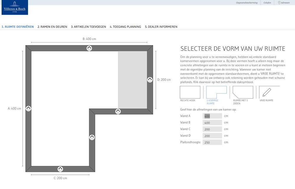 Woonkamer woonkamer tekenen : Met de online badkamerplanner van Villeroy en Boch kan je jouw ...