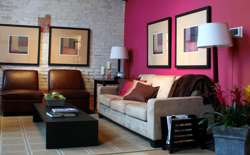 felle kleuren woonkamer