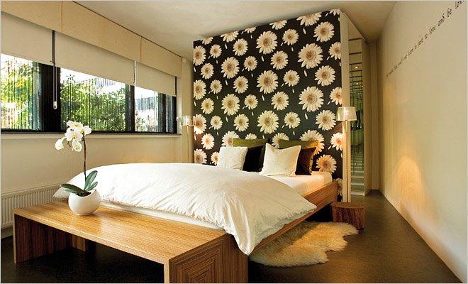 interieur slaapkamer behang  consenza for ., Meubels Ideeën