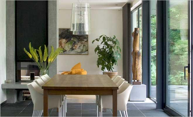 Modern Gezellig Interieur : Moderne villa inrichting door d.o.o.s. interieur&vormgeving