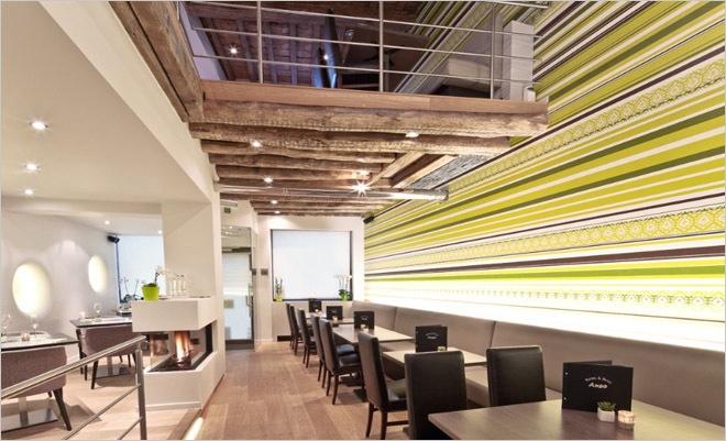Restaurant Inrichting Moderne Bistro Anso Geraardsbergen