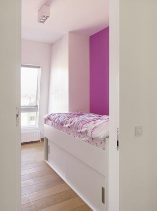 Design penthouse inrichting in antwerpen elft interieur - Roze kinderkamer ...